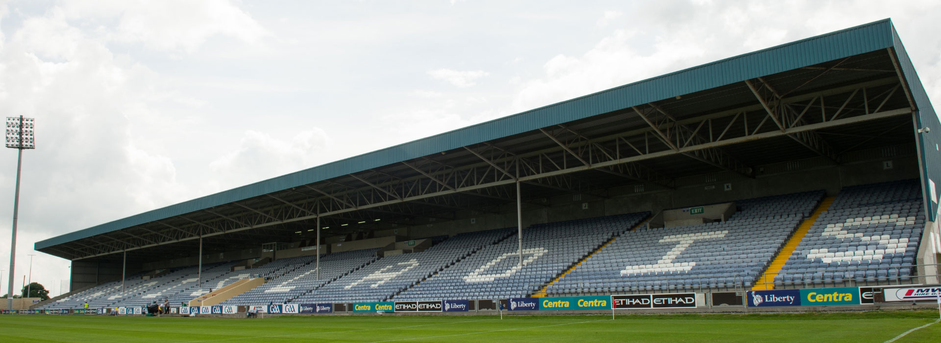 O'Moore Park Grandstand